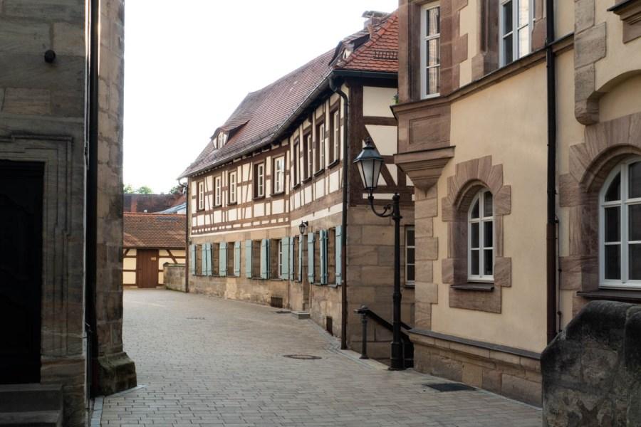 In der Altstadt von Altdorf.