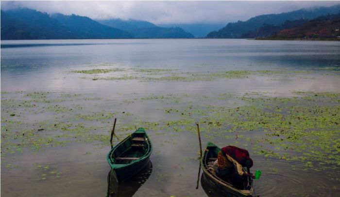 Рыбак. Непал. Автор фото: Bilal Salameh.