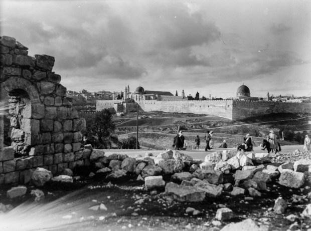 Иерусалим, 1900 год.