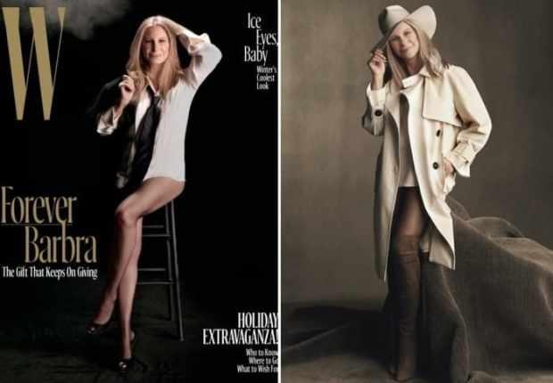 В 74 актриса и певица снялась для обложки журнала   Фото: woman.ru