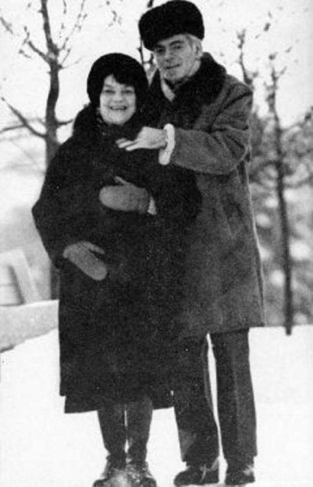 Аркадий Райкин и Руфь Иоффе. / Фото: www.wp.com