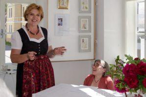Brigitte Woletz und Sandra Hermann