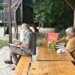 Malgruppe im Sommer – Rückblick August 2019