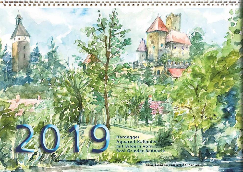 Hardegger Aquarellkalender 2019 – 2020