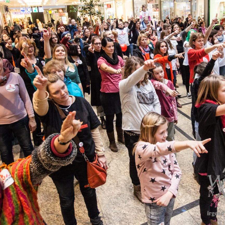 One Billion Rising - Allee Center Magdeburg