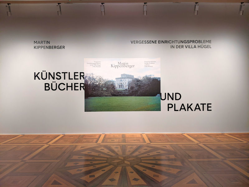 Kippenberger in der Villa Hügel
