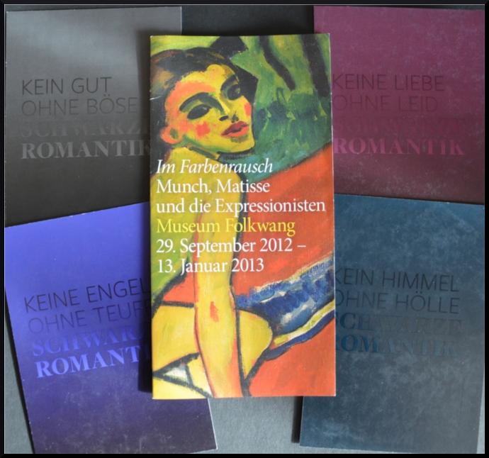 Schwarze Romantik - Im Farbenrausch