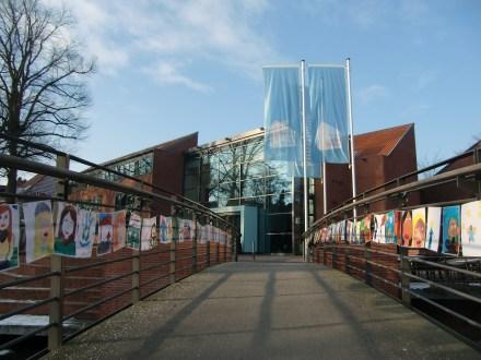 Bunter Empfang an der Kunsthalle Emden