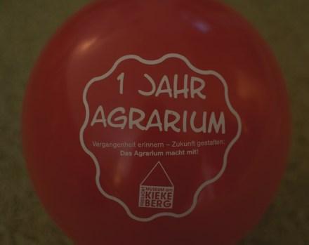 Luftballons zum Internationalen Museumstag vom Freilichtmuseum am Kiekeberg