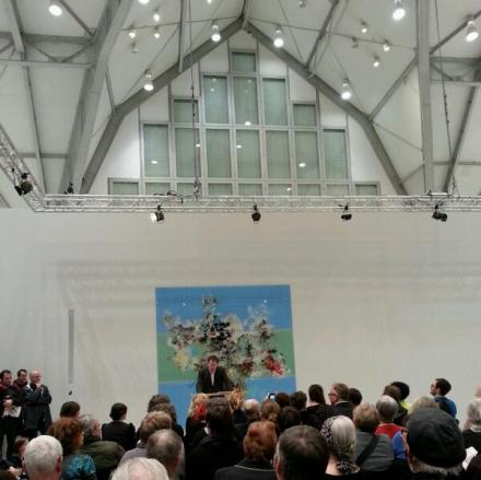 """Ausstellungseröffnung """"Gute Aussichten"""" im Haus der Photographie, Deichtorhallen, Hamburg. Foto: Wera Wecker"""