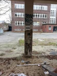 Streetart in Hamburg: Übermalte Kunstwerke - Schade!