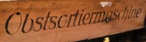 Obstsortiermaschine - Freilichtmuseum am Kiekeberg (Foto: Wera Wecker)