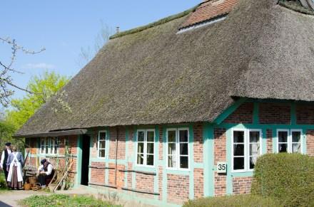 Altes Fischerhaus im Freilichtmuseum am Kiekeberg