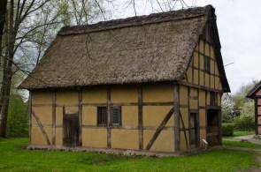 Historisches Gebäude im Museumsdorf Cloppenburg. Foto: Wera Wecker