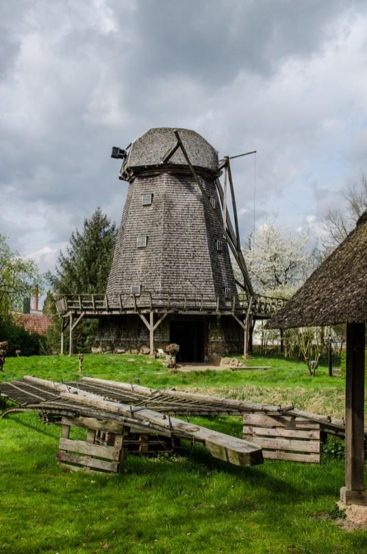 Kappenwindmühle im Museumsdorf Cloppenburg. Foto: Wera Wecker