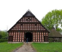 Hofanlage Quatmann aus Elsten, erbaut 1803-1806, im Museumsdorf Cloppenburg. Foto: Wera Wecker