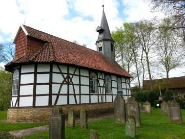 Kirche aus Klein Escherde im Museumsdorf Cloppenburg. Foto: Wera