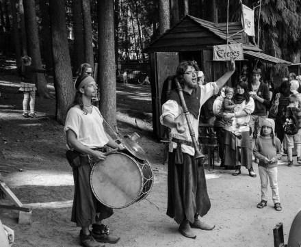 Mittelalter Spektakel im Wildpark Schwarze Berge