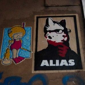 Streetart in Hamburg, St. Pauli