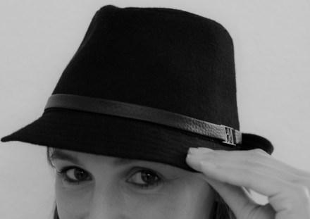 Die, die den Hut auf hat
