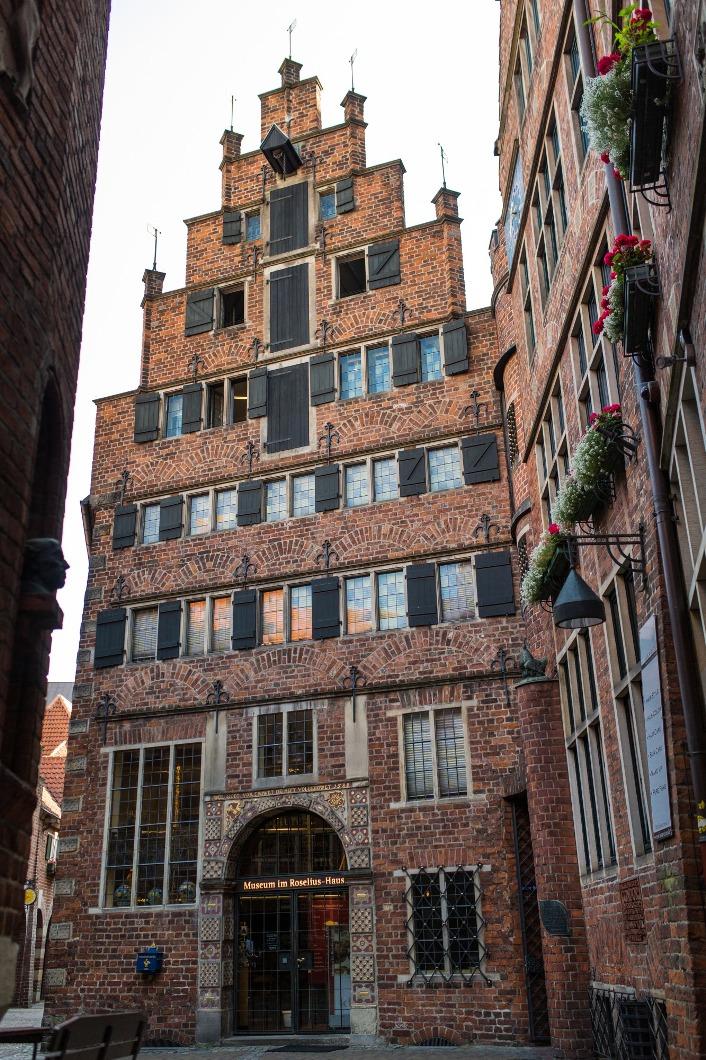 Bremen Fotografie bilck auf das roselius haus foto freiraumfotografie bremen