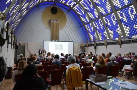 """Tagung """"Grenzüberschreitungen: Marianne Werefkin und die kosmopolitischen Künstlerinnen in ihrem Umfeld"""" im Himmelssaal im Haus Atlantis"""