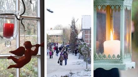 Weihnachtsmarkt der Kunsthandwerker im Freilichtmuseum am Kiekeberg.  Bild: FLMK