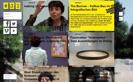 #32 Das Online Magazin der Kunstsammlung NRW www.number32.de