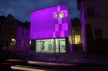 Kunstmuseum Celle bei Nacht Foto: Kunstmuseum Celle