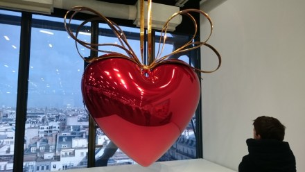 "Jeff Koons: ""Hanging Heart"" (Red/Gold), 1994-2006 (Celebration)"