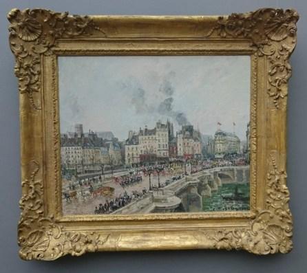 Camille Pissarro Die Brücke Pont Neuf, 1902 Musée des Beaux-Arts, Lyon