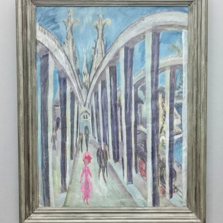 Ernst Ludwig Kirchner Rheinbrücke in Köln, 1914 Staatliche Museen zu Berlin, Nationalgalerie