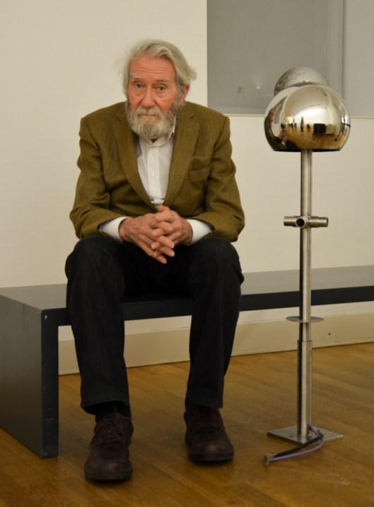 Otto Piene im LWL-Museum für Kunst und Kultur Foto: Wera Wecker