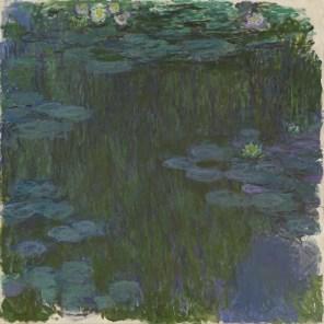 Claude Monet: Seerosen, 1914–1917, Privatsammlung, Scan: RECOM ART