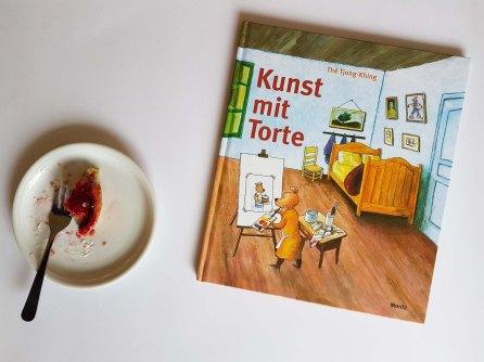 Kunst mit Torte. Thé Tjong-Khing. Moritz Verlag