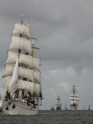 Blick auf die Nordsee - Bremerhaven