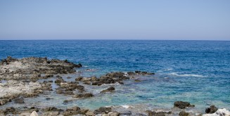 Blick aufs Mittelmeer - Kreta