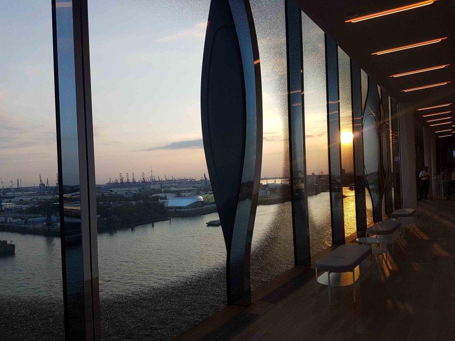 Ausblick aus der Elbphilharmonie