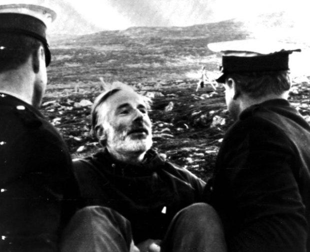 Arne Næss, pågripes for sivil ulydighet, Mardøla-aksjonen 1970