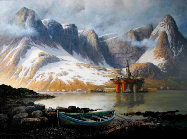 Rolf Groven, Borerigg i Lofoten