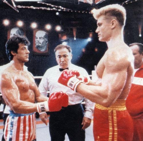 Ivan Drago vs. Rocy Balboa