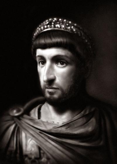 Theodosius II by Antoine Hilbert