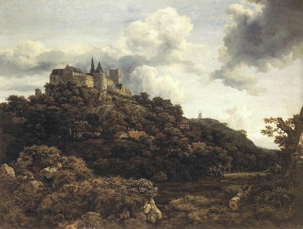 VanRuysdael, Bentheim Castle 1653