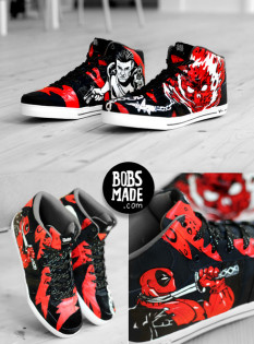 These Marvel kicks are impressive.