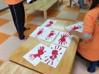 カニの手形10