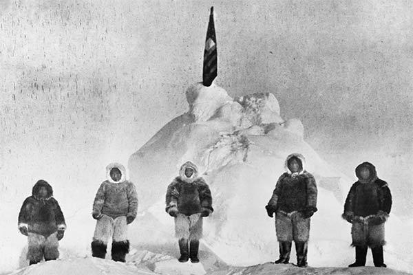 Manusia Pertama di Kutub Utara