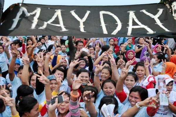 Peringatan Hari Buruh Di Indonesia