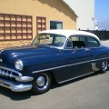 This car has sold classic chevy cruiser california car that is priced