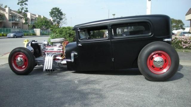 SOLD 1928 Ford Model A Custom California Old School Hot Rod