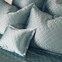 quilted pillow shams ~ Kumi Kookoon